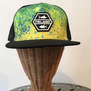 PELAGIC Alpha Dorado Hex SnapBack Hat